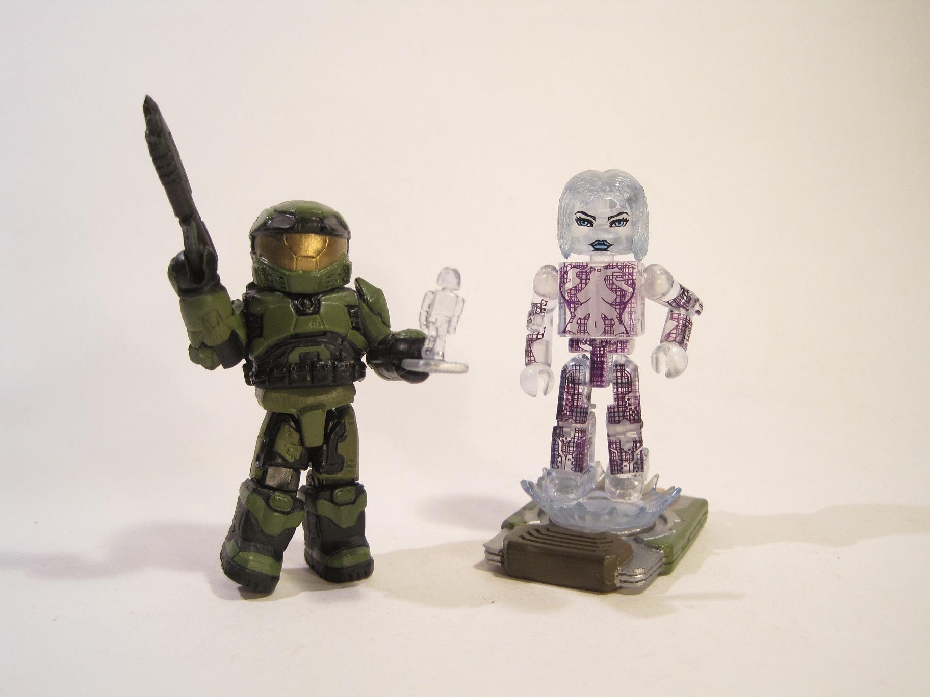 Halo Minimates Emile Halo Minimates Chief Amp Cortana1