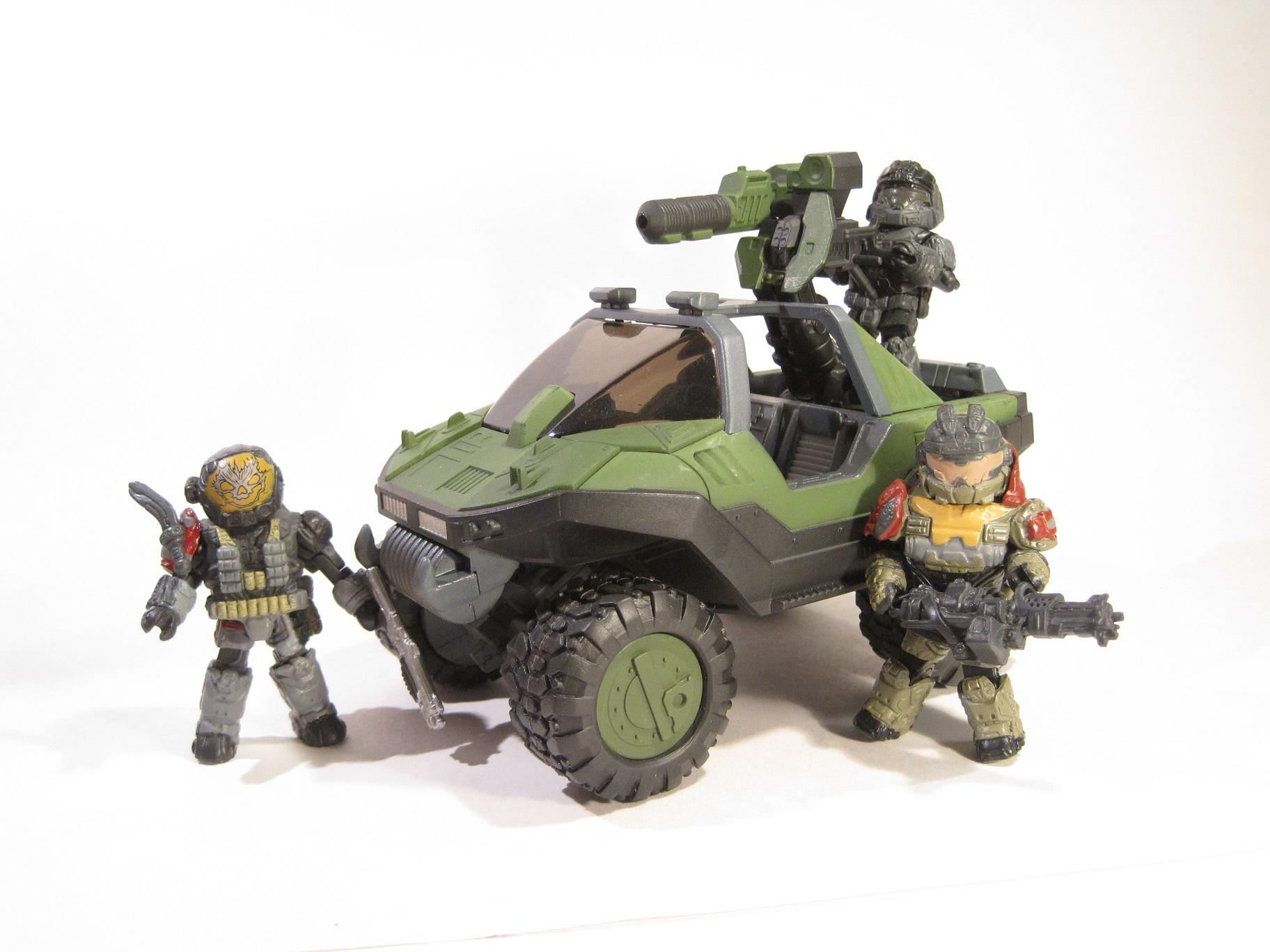 Halo Minimates Warthog Halo Minimates