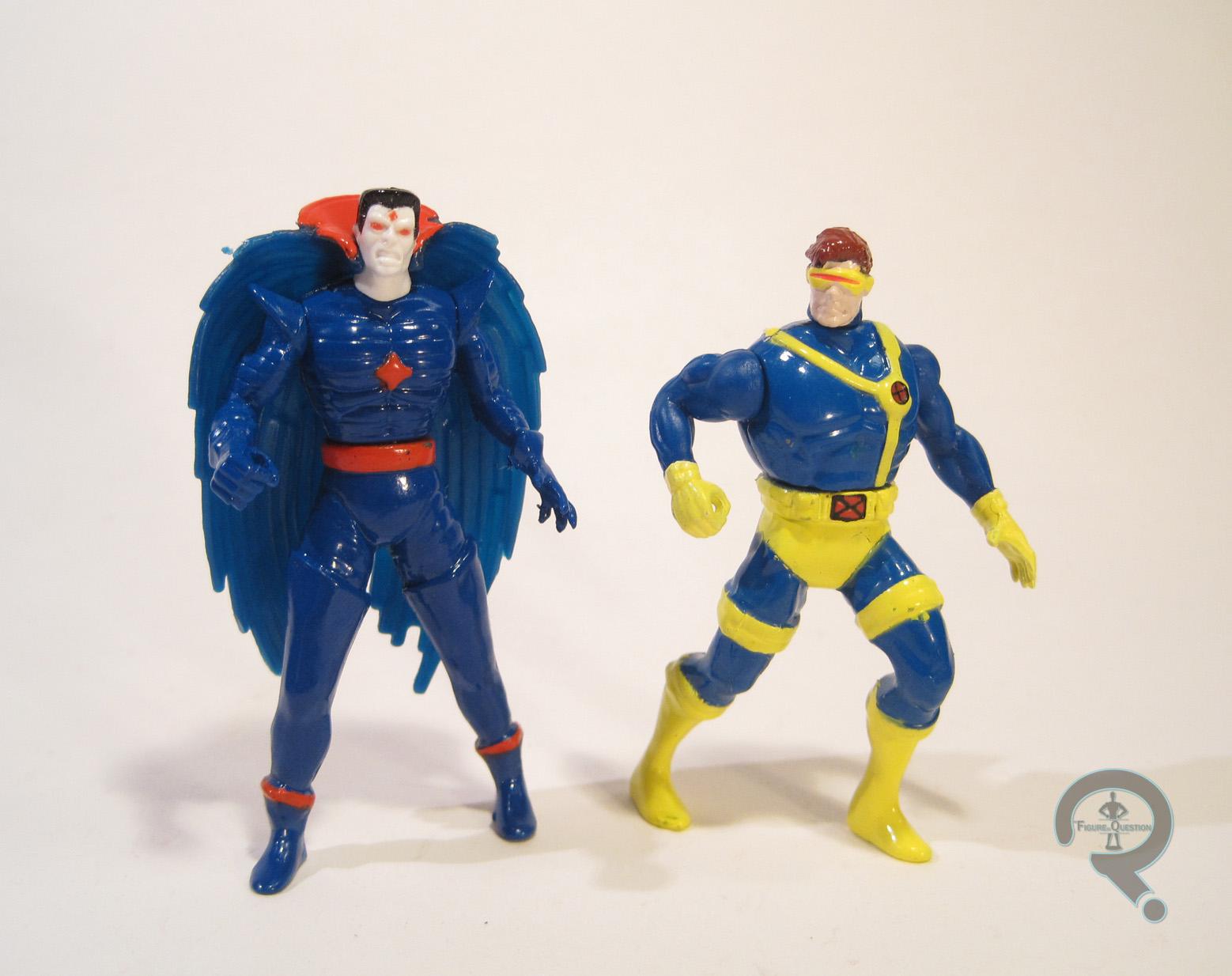 Bishop Die-cast Metal Action Figures Gambit Vs Marvel Comics X-Men Steel Mutants