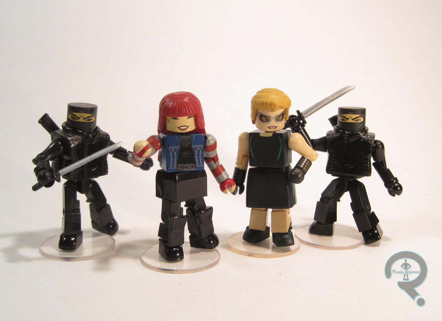 Marvel Minimates Series 52 The Wolverine Movie Black Clan Ninja