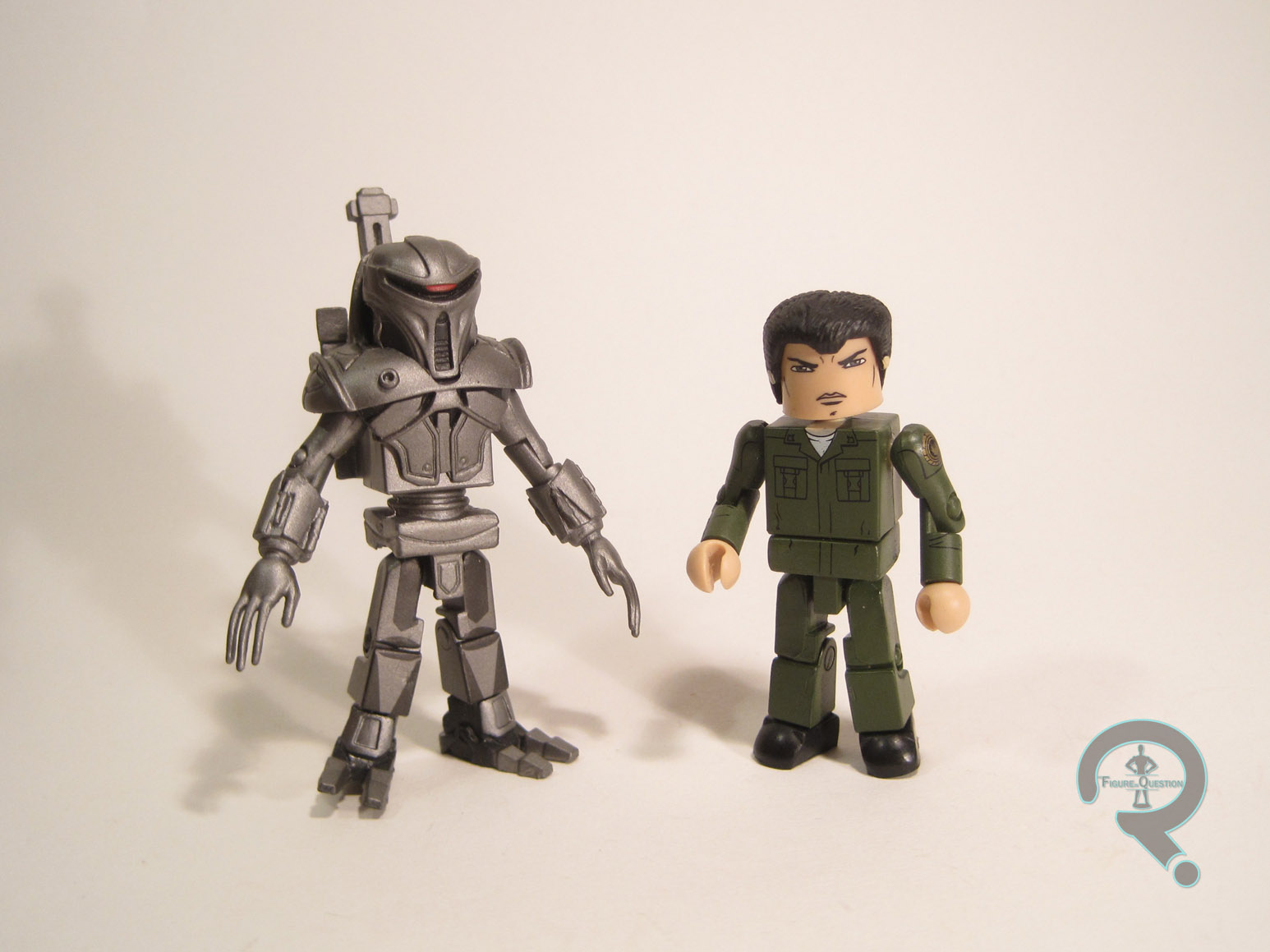 "Battlestar Galactica MiniMates /""CYLON/"" Action Figure 5 Pack Exclusive"