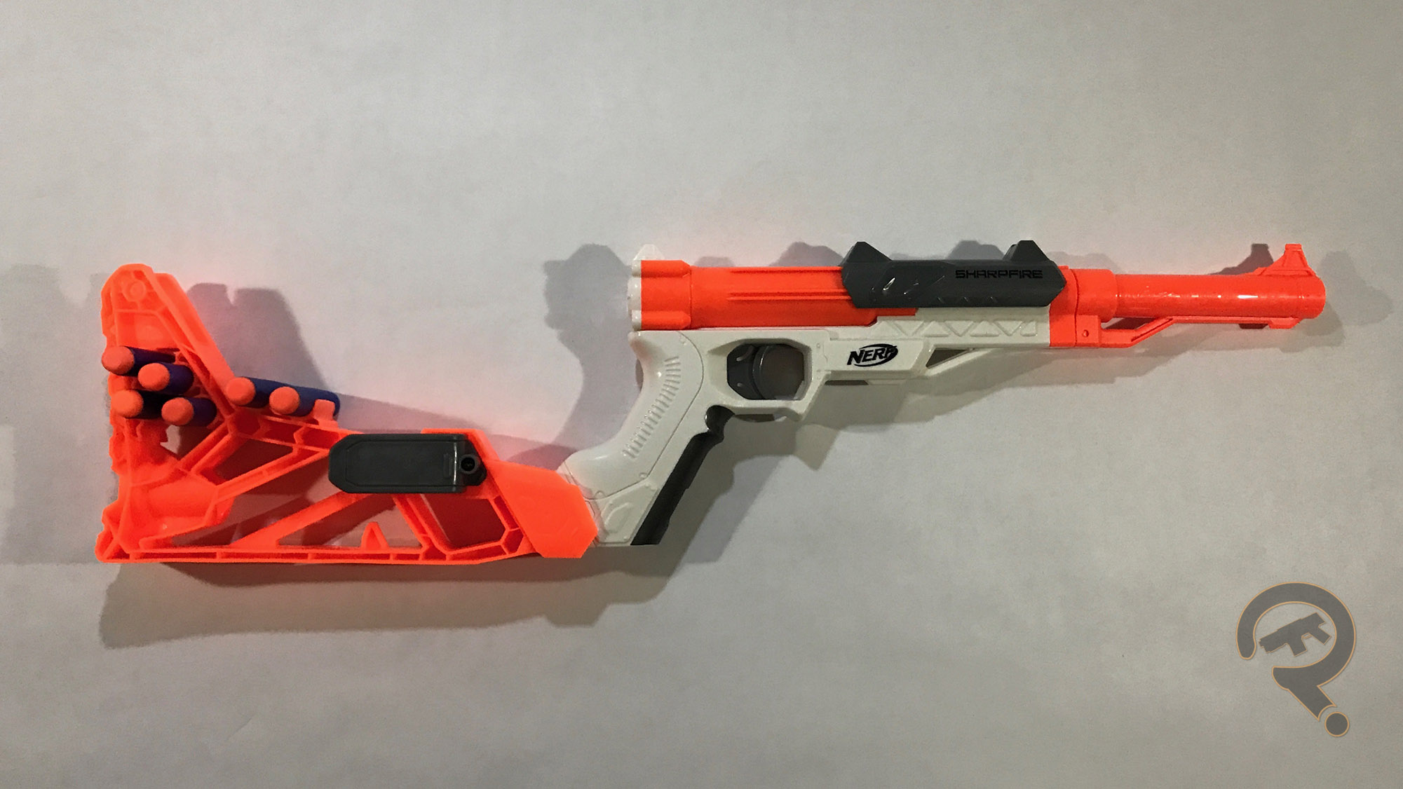 This week, we'll be playing the NES classic, Duckhunt using the zapper  light gun. Wait, hang on. Nope, scratch that, this is a Nerf blaster, but  let's be ...