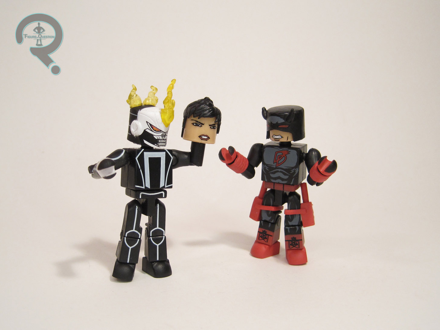 MARVEL MINIMATES SERIES 75 FIGURE SET DEFENDERS QUAKE DD GHOST RIDER PUNISHER