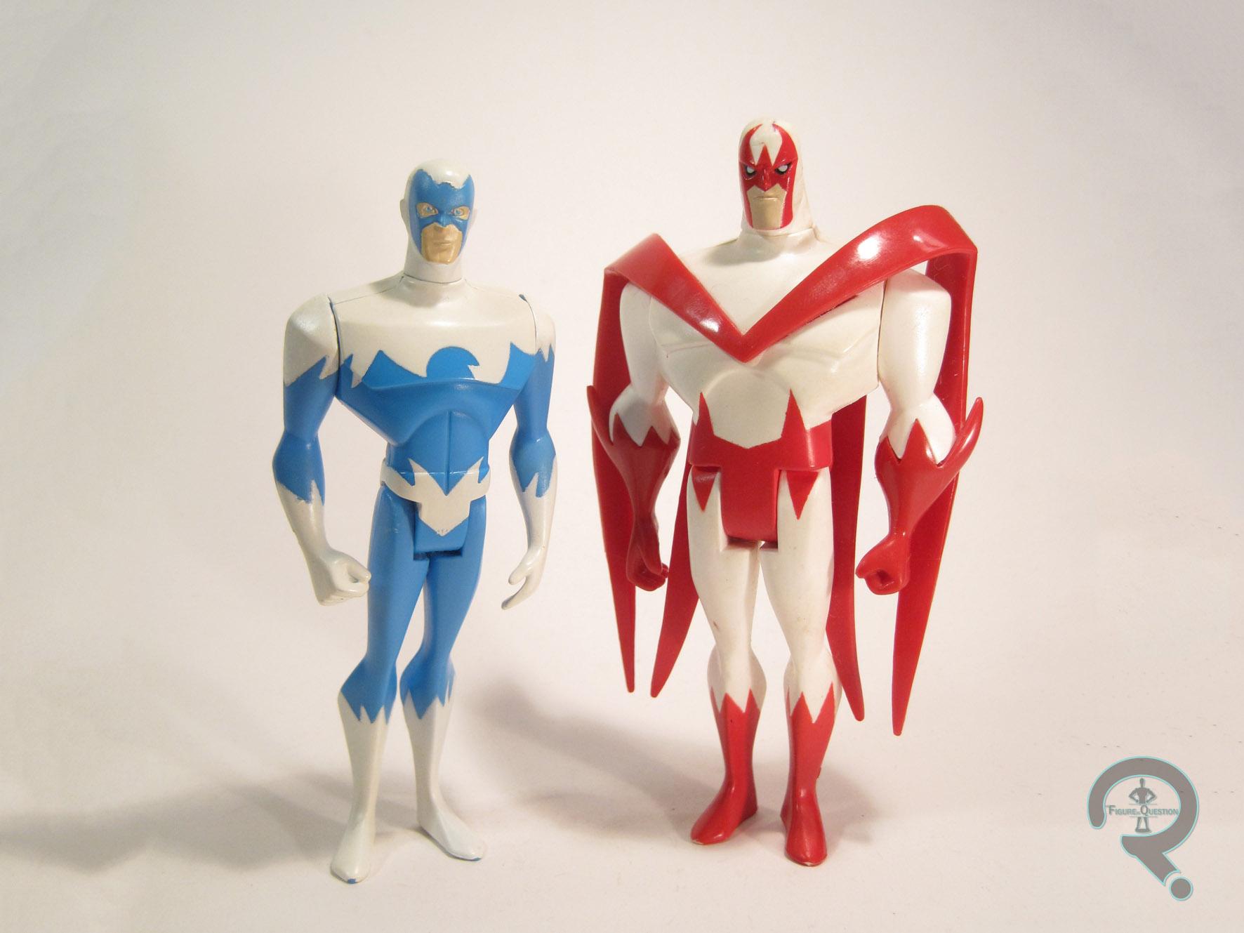 "Justice League Unlimited Loose 4/"" ADAM STRANGE Figure Matty Collector Exclusive"