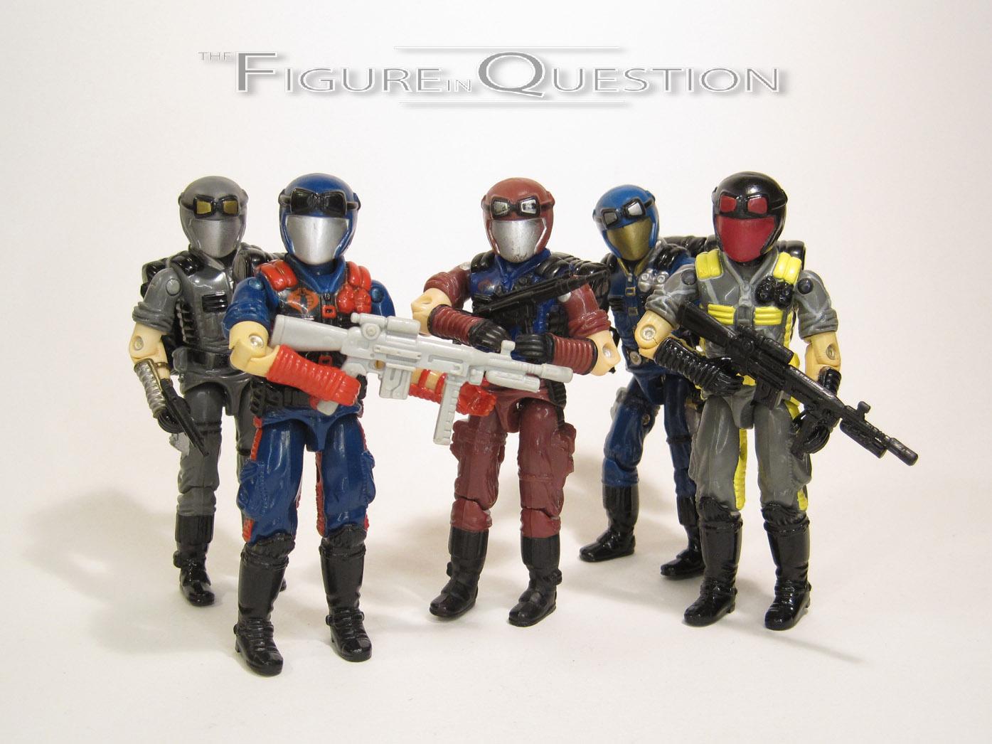 G I Joe Accessoire 1998 Cobra Trooper ou officier Field Back Pack