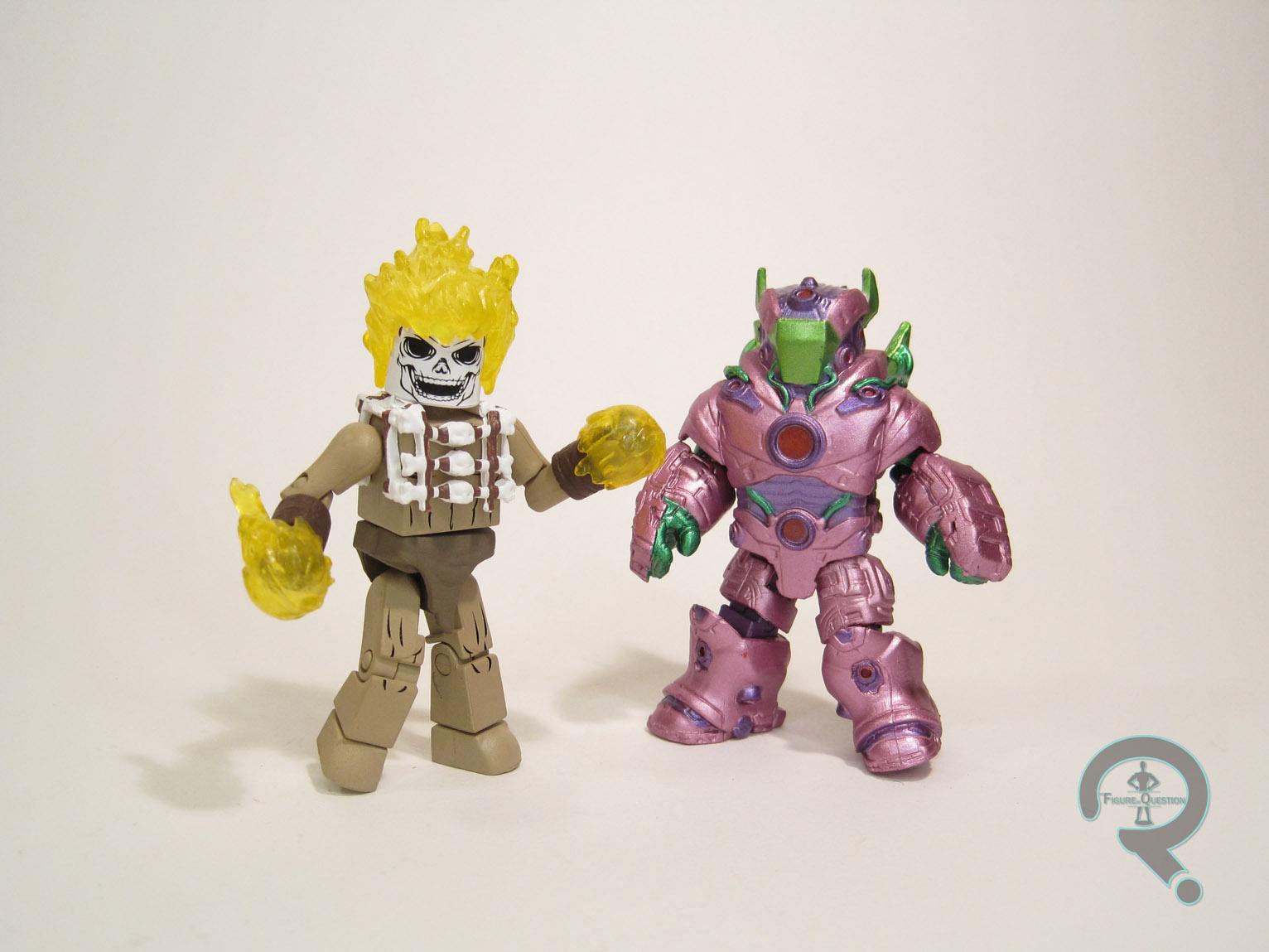 Marvel Minimates Walgreens Avengers of 1,000,000 BC Ghost Rider /& The Fallen