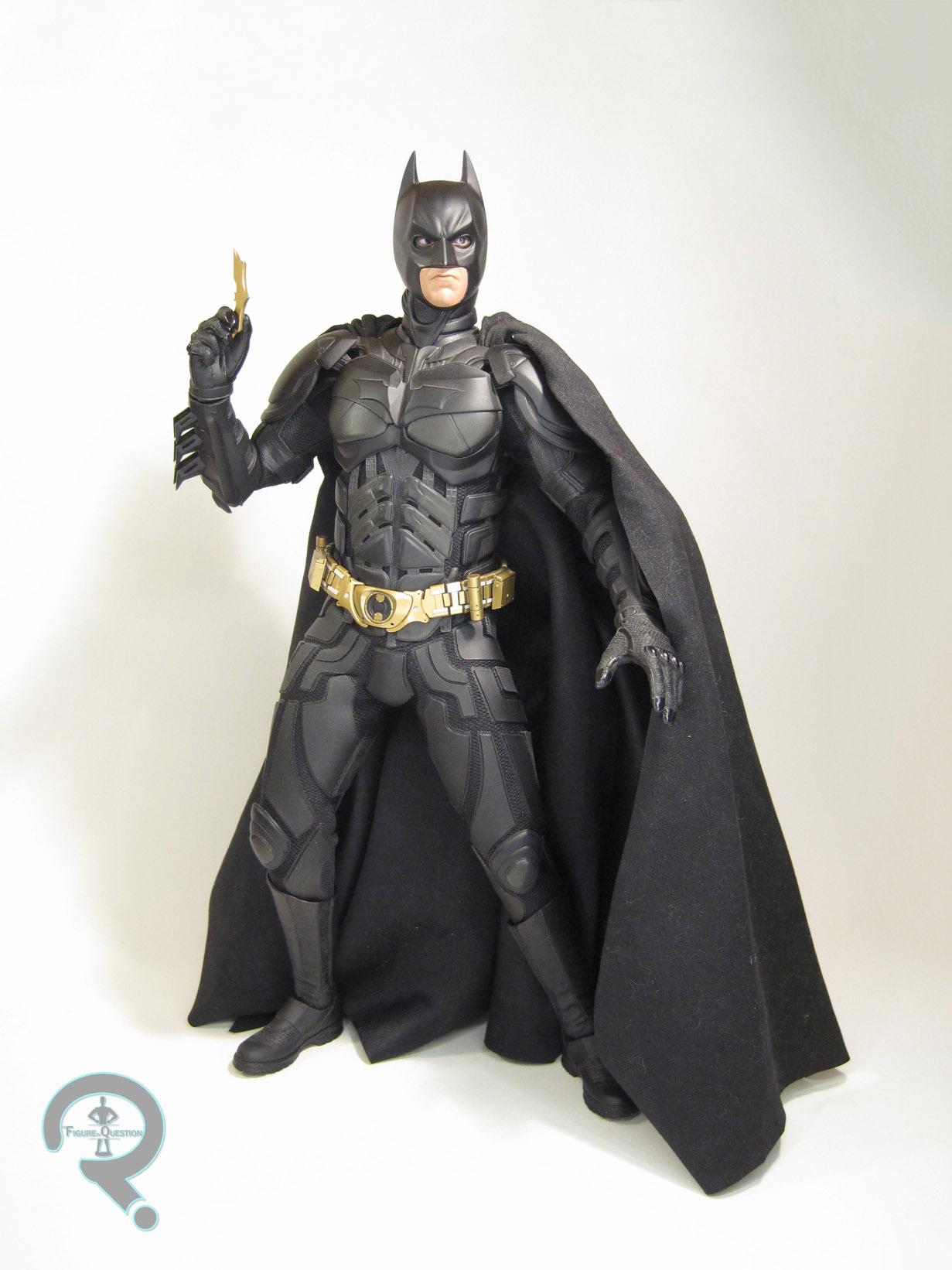 "4/"" Dc Comics The Dark Knight Rises BATMAN Red Suit Silver Belt Figure Lot"