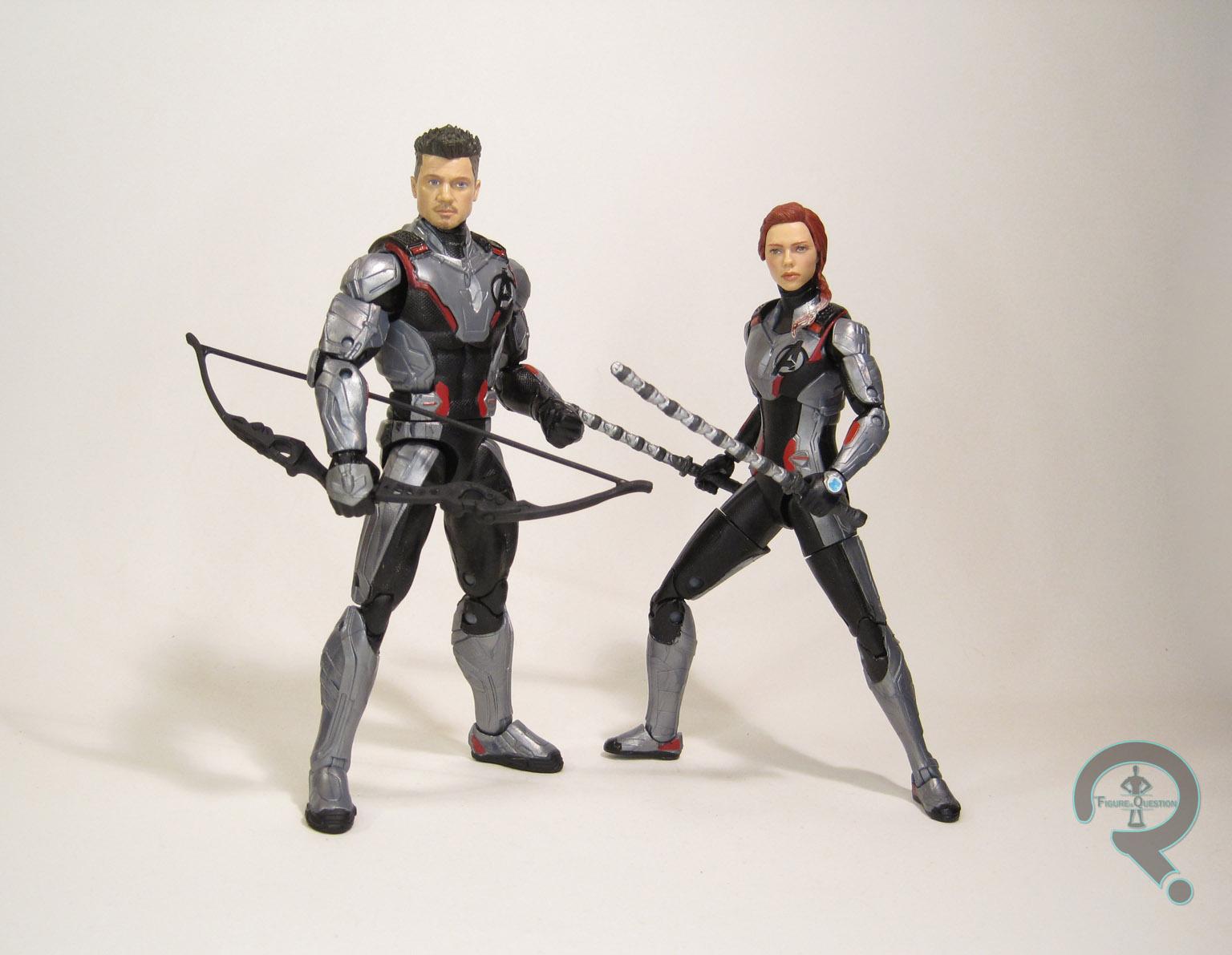 2056 Hawkeye Black Widow The Figure In Question
