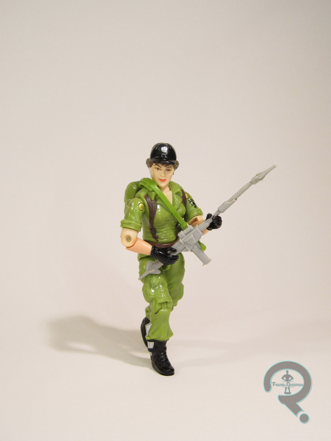 FIGURINE VINTAGE GI-JOE FIGURE LADY JAYE 80/'S HASBRO NO ACTION MAN