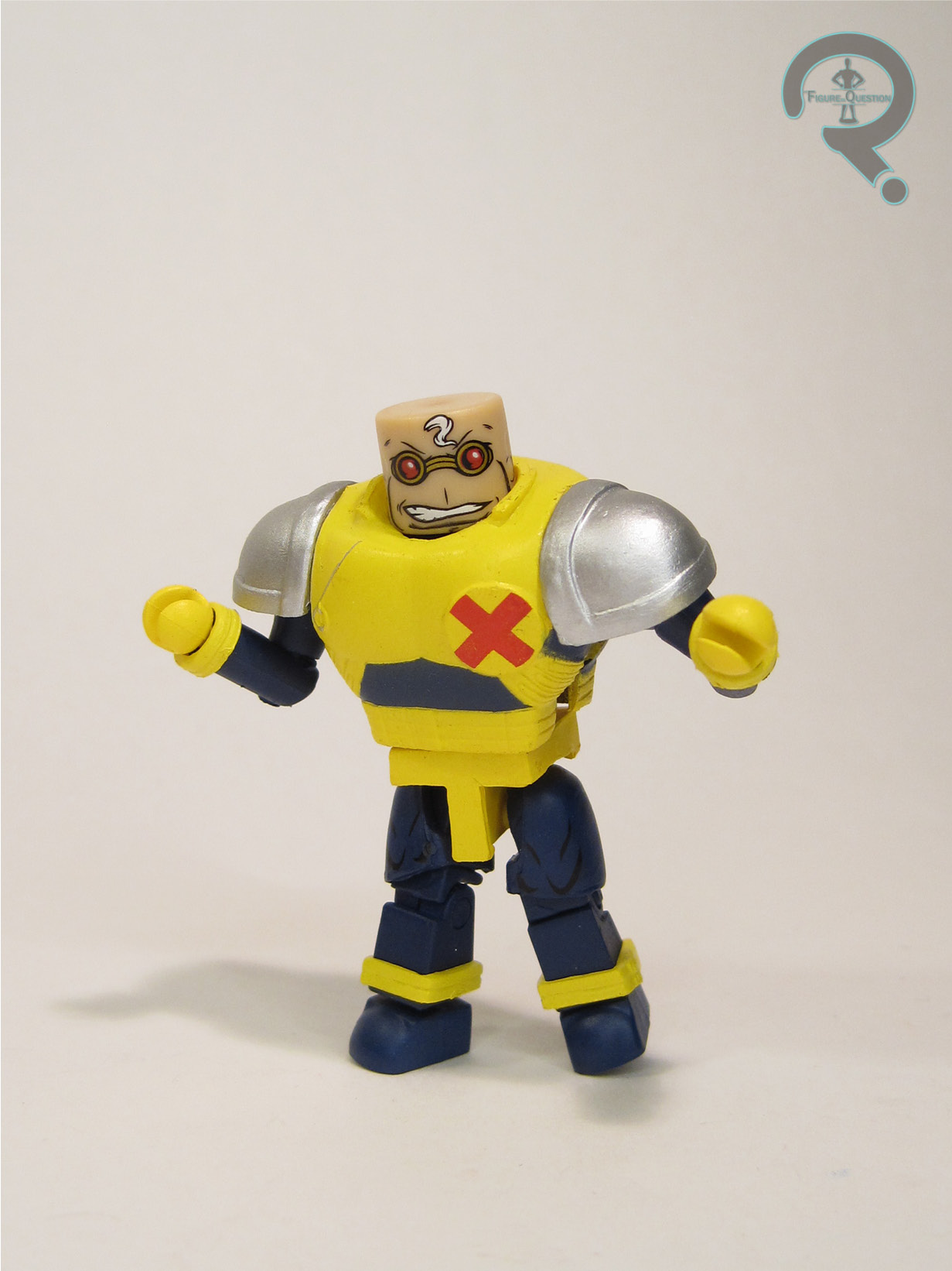 Marvel Minimates série 78 X-Factor STRONG GUY BAF Build-a-Figure