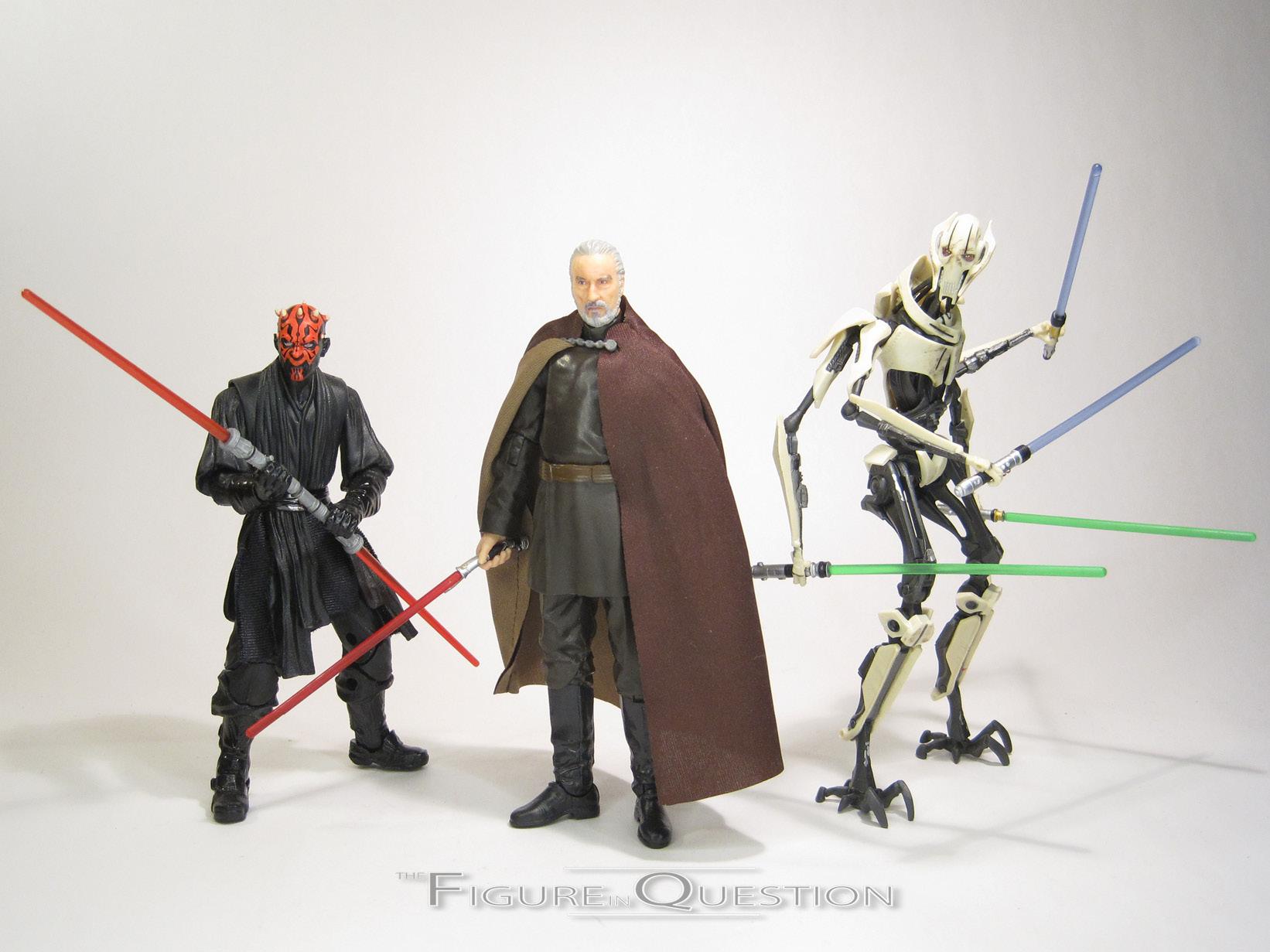 Star Wars The Black Series Conde Dooku Hasbro 107