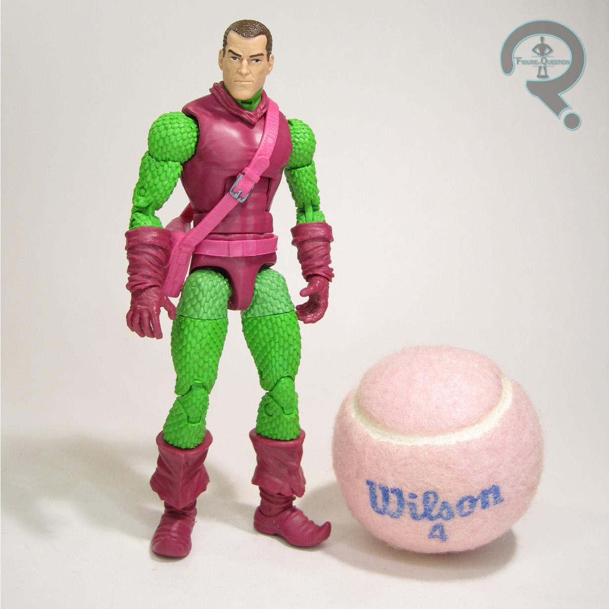 Marvel Legends Norman Osborn head from retro green goblin