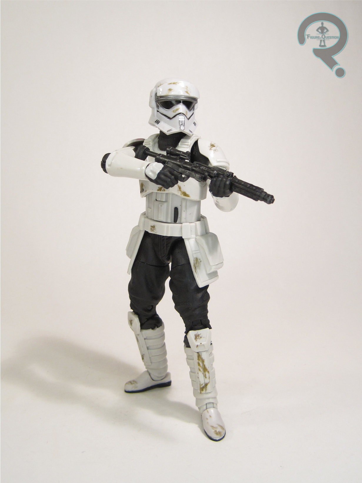 """Imperial Biker scout /""""ROTJ/"""" clean Variant Star Wars power of the Jedi Hasbro"""