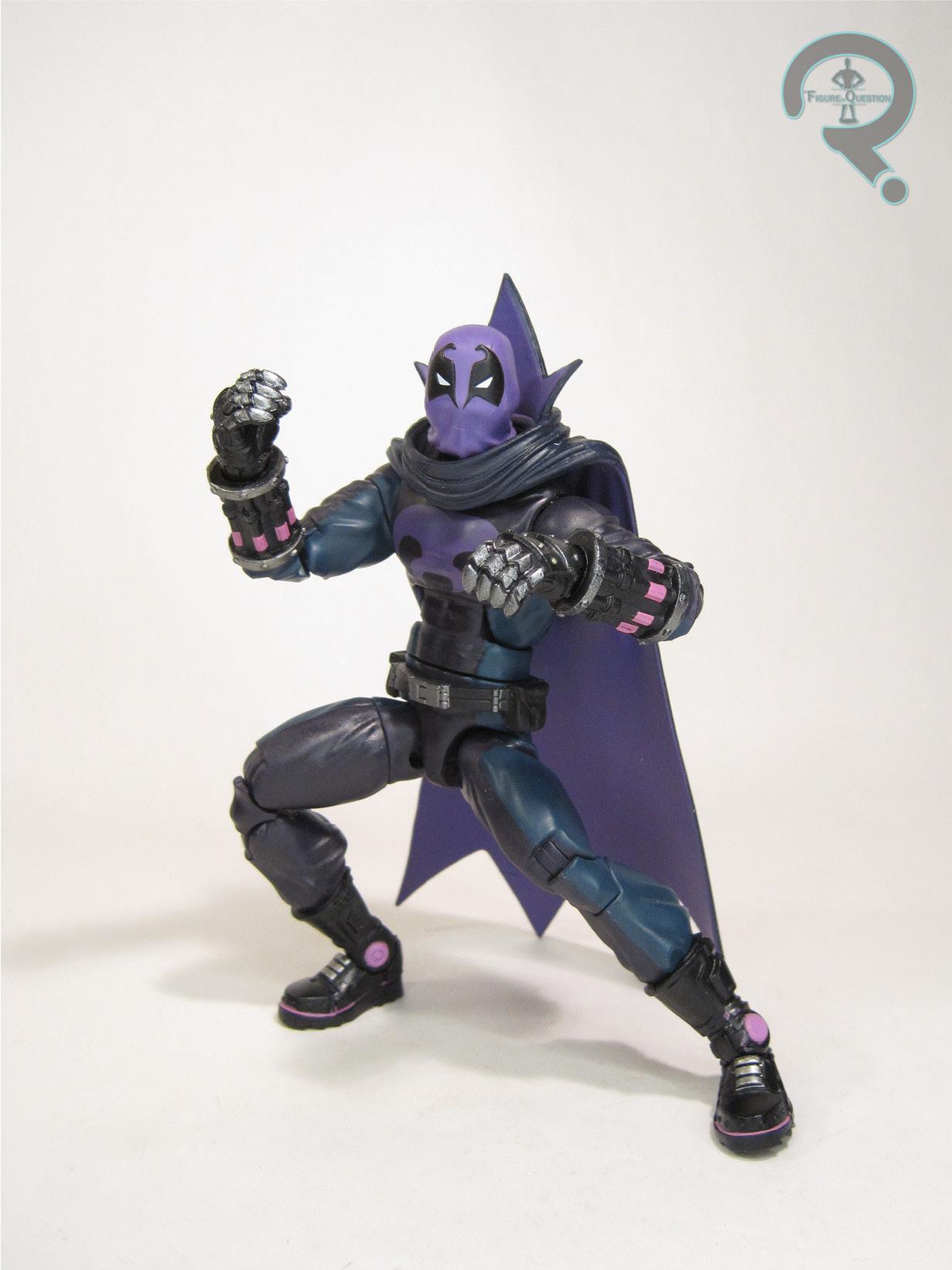 Custom Cloak Violet with hood for Marvel Legends Prowler male body NO FIGURE